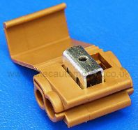Scotchlok TYPE connector BROWN 3.00mm2- 4.5mm2 (pck 5)